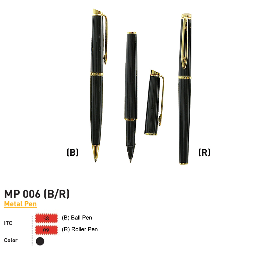 MP 006 (B/R) - Metal Pen