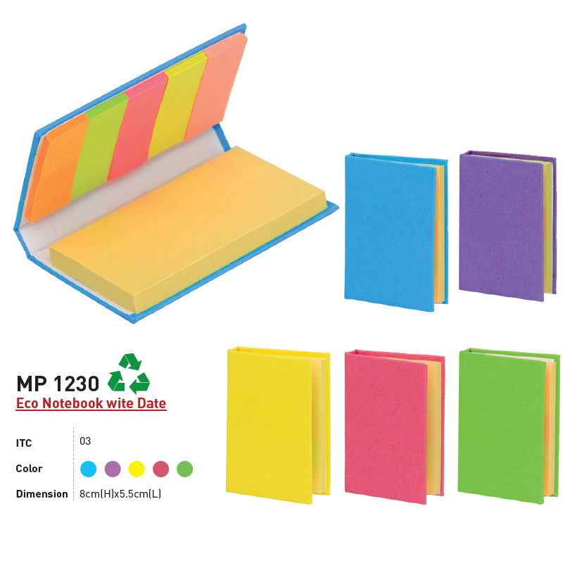 MP 1230 - Eco Notebook with Date