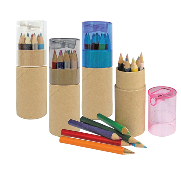 CLP 4633 - Colour Pencil with Sharpener (12 pcs)